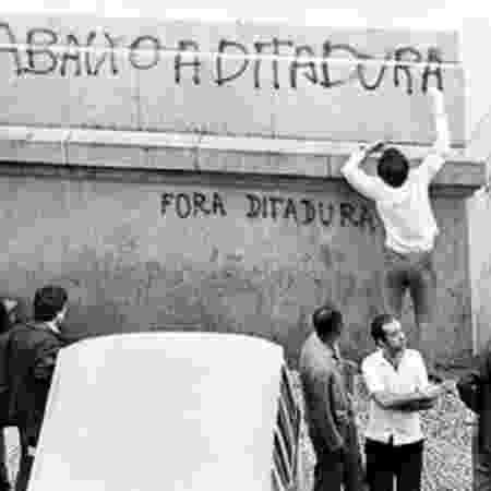 Ditadura Militar no Brasil foi de 1964 a 1985 -  Kaoru/CPDoc