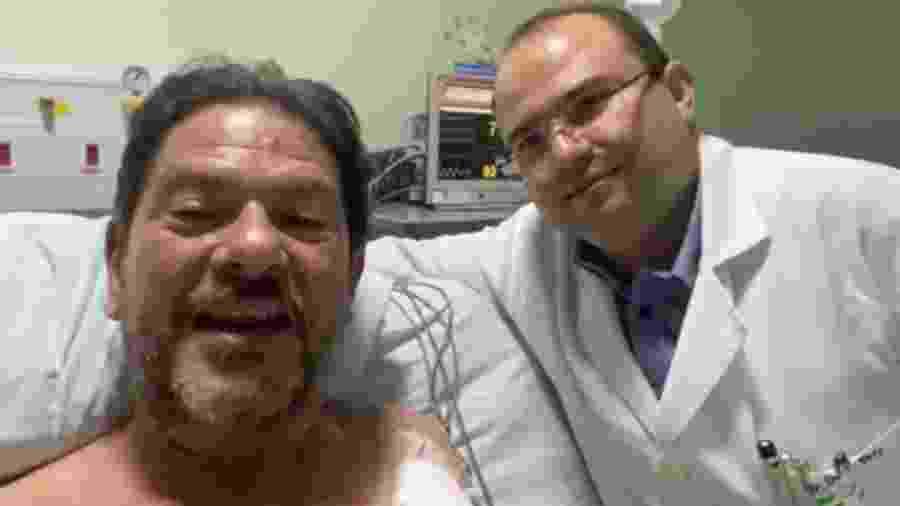 Cid Gomes grava vídeo para agradecer equipe médica do Hospital do Coração de Sobral - Reprodução/Instagram