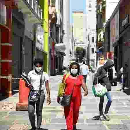 Ruas de São Paulo após determinação de quarentena - DANILO M YOSHIOKA/FUTURA PRESS/ESTADÃO CONTEÚDO