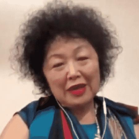 Nise Yamaguchi durante participação do UOL Entrevista - Reprodução/MOV