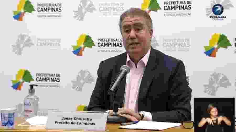 Prefeito de Campinas anuncia reabertura de comércio - Reprodução/Facebook