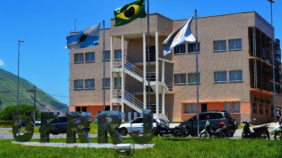 Entrada da Universidade Federal Rural do Rio de Janeiro (UFRRJ), campus Nova Iguaçu - Divulgação/UFRRJ