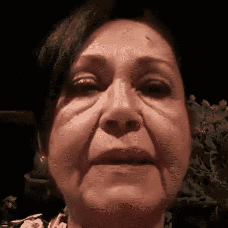 A brasileira Zilda Naves, 64, que vive em Beirute - Reprodução