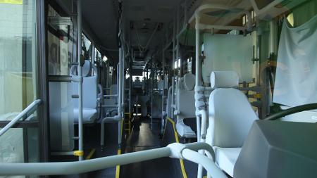 Chroma-Líquido Tecidos está produzindo capas antivirais para bancos de ônibus - Divulgação