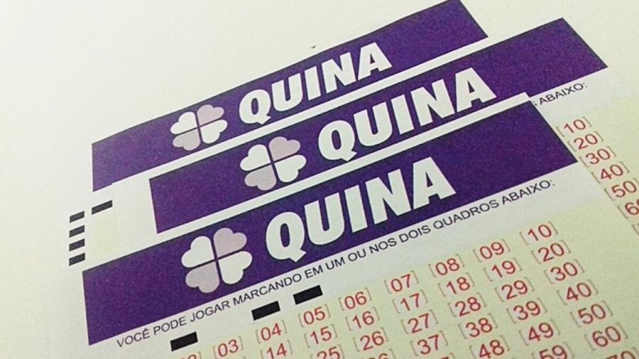 Quina 5473: prêmio de hoje (22) na loteria é de mais de pouco mais de R$ 4,5 milhões  - Divulgação