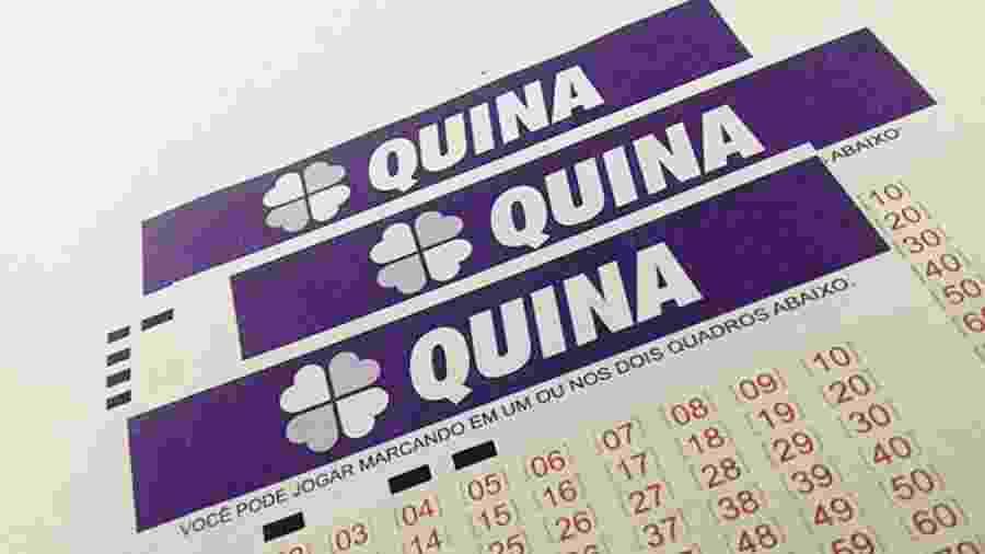 Quina 5398 sorteia prêmio de mais de R$ 700 mil hoje (23) - Divulgação