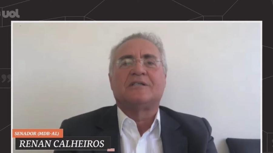 """Relator da CPI quer evitar que comissão aparente """"pessoalização da investigação"""" - Reprodução/UOL Entrevista"""