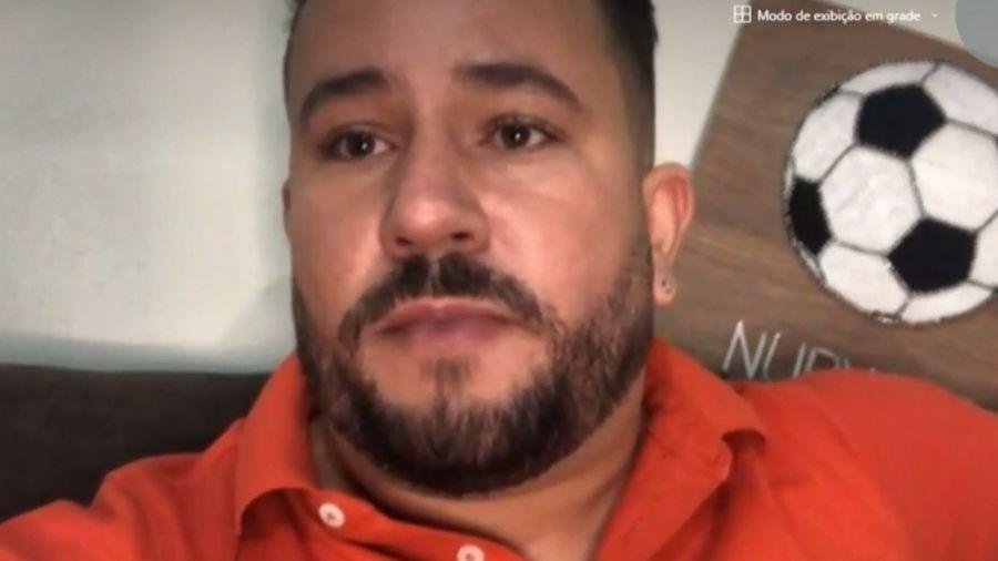 Nubyano Nascimento Pereira, superintendente de esportes de Quirinópolis (GO) - Reprodução/TV Anhanguera