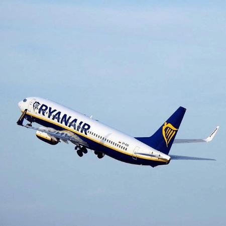 Avião Ryanair - Reprodução/Instagram/Ryanair