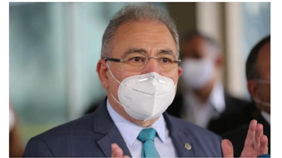Marcelo Queiroga, ministro da Saúde - EBC