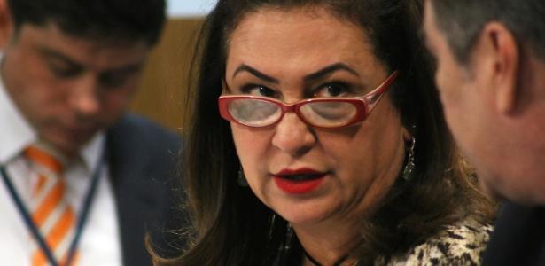 A senadora Katia Abreu, ex-ministra da Agricultura no governo Dilma