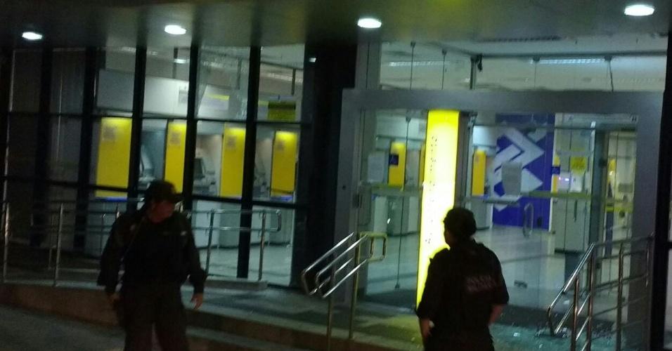 Agência do Banco do Brasil atacada por criminosos em Natal