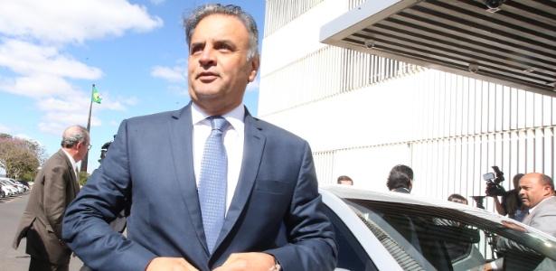 Aécio Neves, que está licenciado da presidência do PSDB, deixará definitivamente o posto