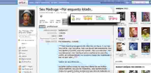 Orkut - avaliação do usuário - Reprodução - Reprodução