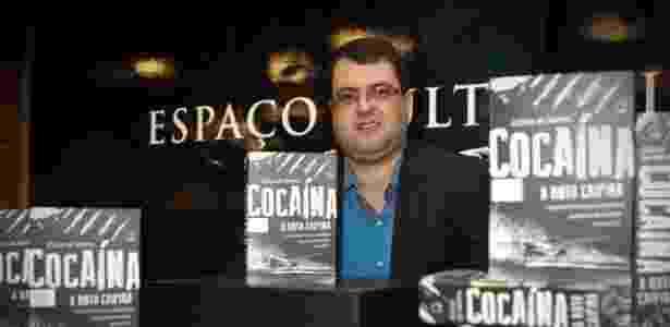 """O jornalista Allan de Abreu, autor de """"Cocaína - A Rota Caipira"""" - Divulgação"""