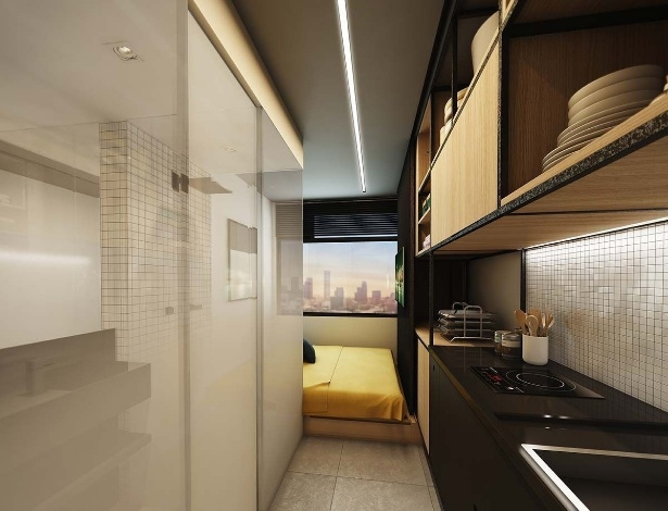 Apartamento de 10 metros quadrados da Vitacon