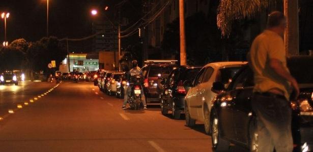 População faz fila nos postos de Brasília; combustível começa a faltar - Marcello Casal jr/Agência Brasil