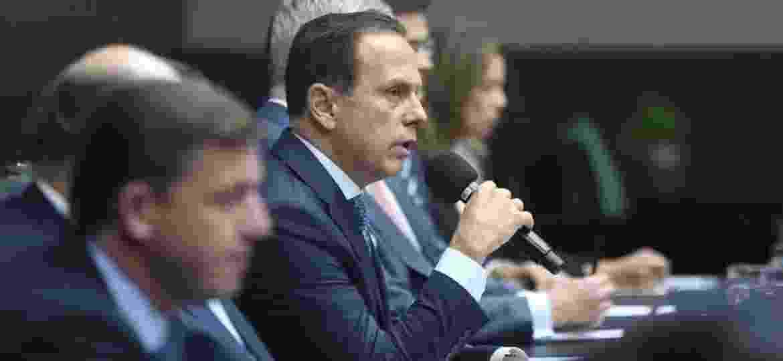 João Doria diz que busca comprador para a fábrica da Ford desde fevereiro do ano passado, quando empresa anunciou fechamento da unidade no ABC - Divulgação/Secom/Governo de São Paulo