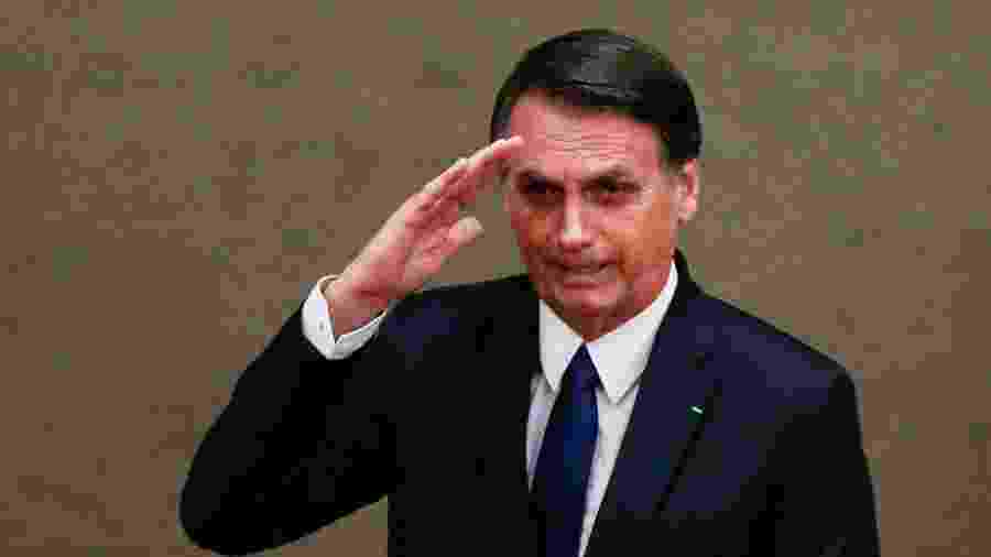O presidente Jair Bolsonaro (PSL)  -  Walterson Rosa 10.dez.18/Folhapress