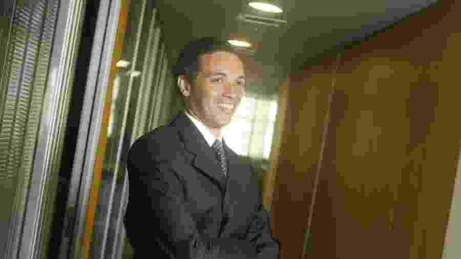 16.jan.2009 - Marcio Lobão, filho do ex-senador Edison Lobão - Rafael Andrade/Folhapress