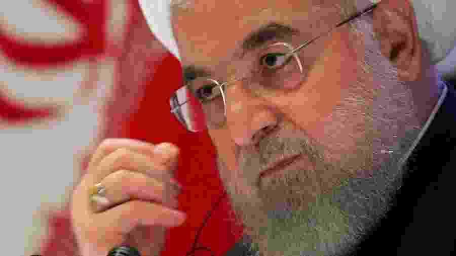 O presidente iraniano, Hassan Rouhani - Brendan McDermid