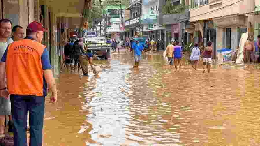Enchente no Espírito Santo - Assessoria de Comunicação do Governo/Divulgação