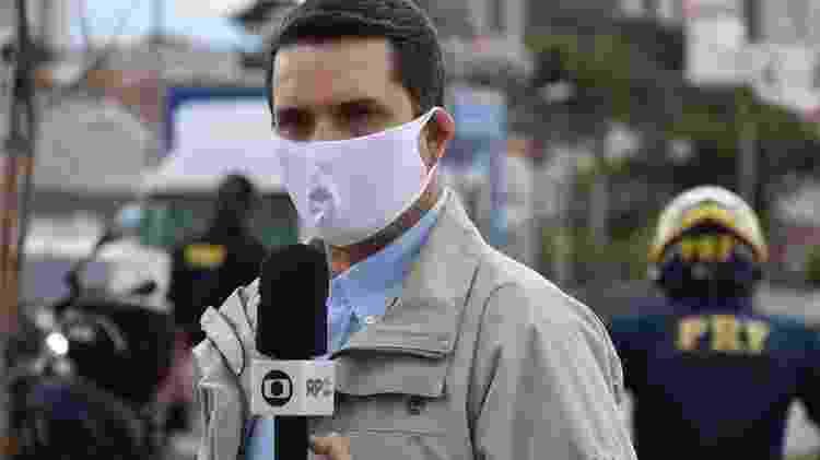 Interferência na comunicação da PRF se agravou após reportagem da TV Globo sobre o aumento de acidentes de nas rodovias federais em abril, após à redução do índice de isolamento social no país - Divulgação/PRF Paraná - Divulgação/PRF Paraná
