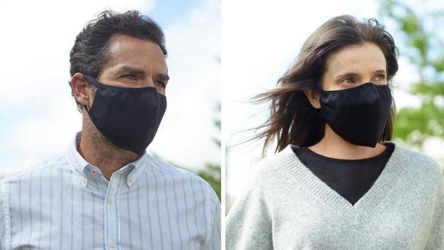 Primeira máscara em tecido testada contra o novo coronavírus e aprovada pelo Instituto de Medicina Molecular em Lisboa - Divulgação/MO
