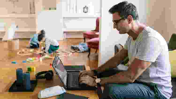 Na América Latina, cerca de 21% dos ocupados conseguem trabalhar de casa - metade do percentual registrado na Europa e nos Estados Unidos - Getty Images - Getty Images