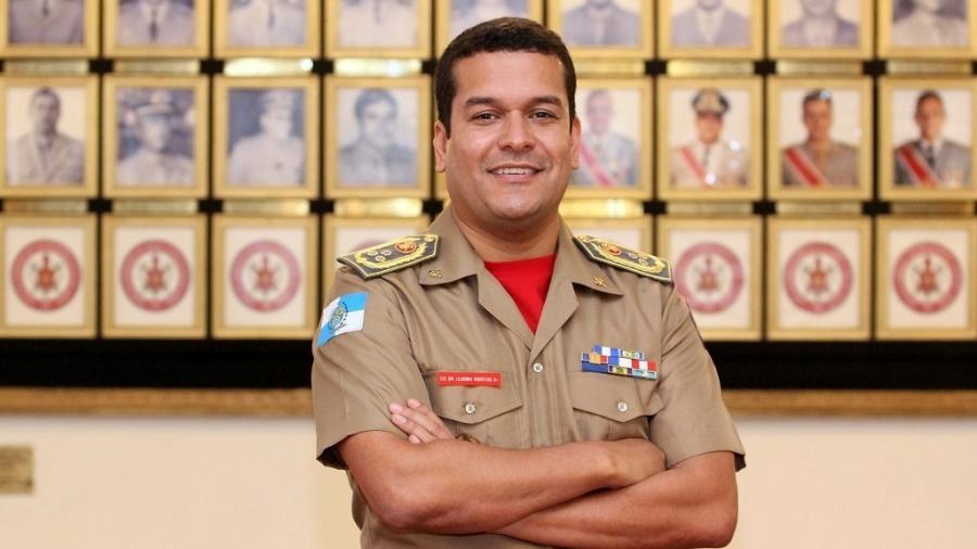Leandro Monteiro, comandante do Corpo de Bombeiros do Rio de Janeiro - Corpo de Bombeiros/Divulgação