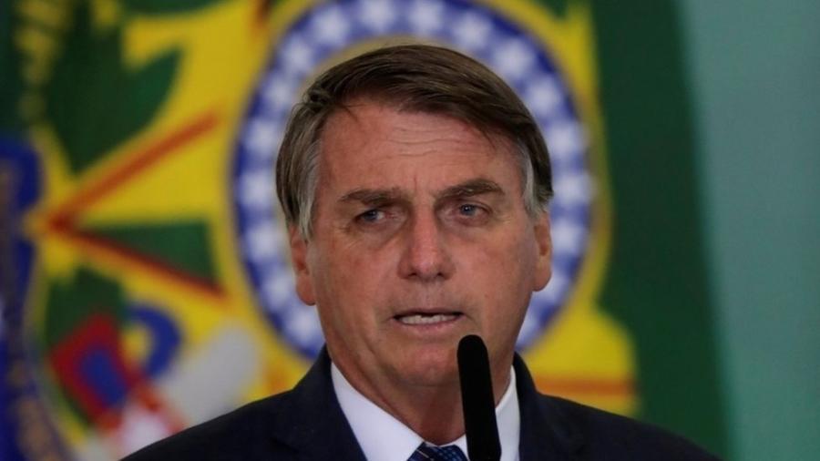 Em sua fala, Bolsonaro também voltou a reiterar seu posicionamento contrário à política de isolamento - Reuters