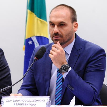 Eduardo Bolsonaro na Câmara dos Deputados - Cleia Viana/Câmara dos Deputados