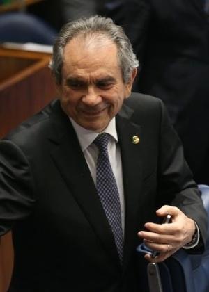 O senador Raimundo Lira (PMDB-PB) preside a Comissão Especial de Impeachment no Senado