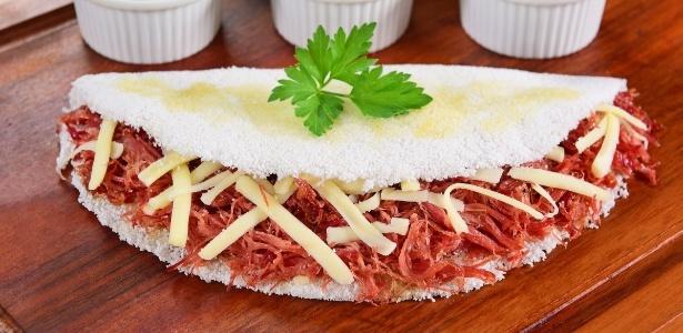 Tapioca de carne seca será uma das opções
