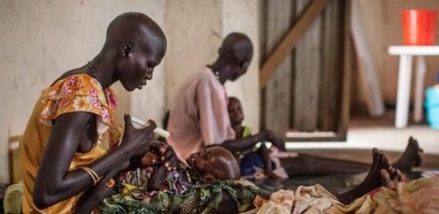 A fome é o principal problema das nações africanas e no Oriente Médio que estão tomadas por conflitos bélicos e de grupos extremistas
