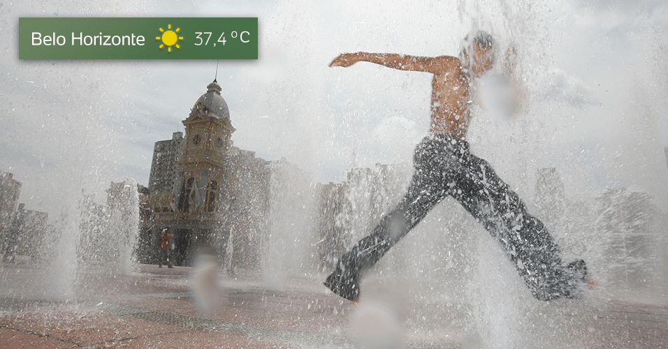 temperaturas capitais brasileiras