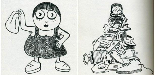 Ilustrações do livro 'Comunismo para Crianças'; obra fala sobre doutrina em linguagem simples e desenhos de 'pequenas revolucionárias vivenciando seu despertar político'