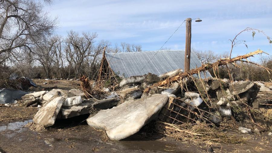 A fazenda da família Ruzicka em Verdigre, Nebraska (EUA) - Mitch Smith/The New York Times