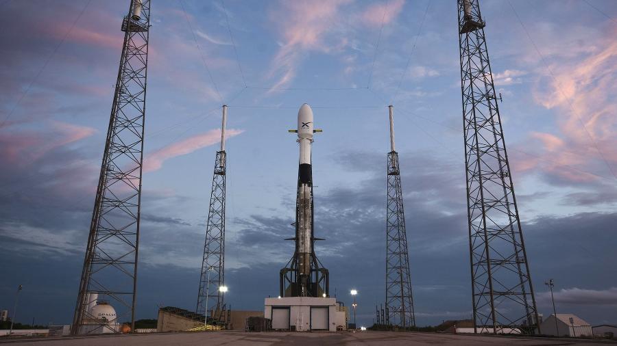 Falcon 9 (imagem) já participou de várias missões de envio de satélites Starlink da SpaceX - SpaceX/Divulgação