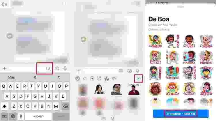 WhatsApp: como acessar figurinhas - UOL - UOL
