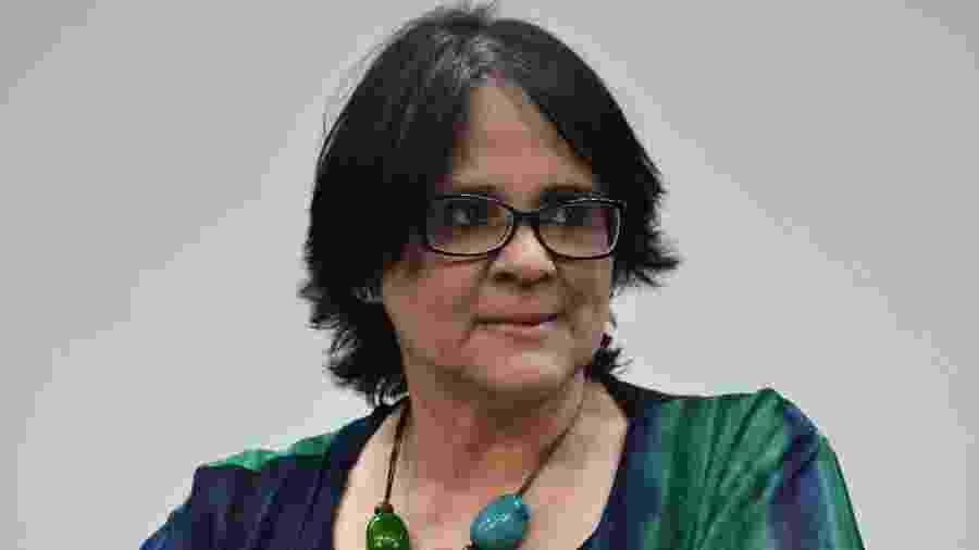 A ministra da Mulher, da Família e dos Direitos Humanos do Brasil, Damares Alves - RENATO COSTA /FRAMEPHOTO/FRAMEPHOTO/ESTADÃO CONTEÚDO