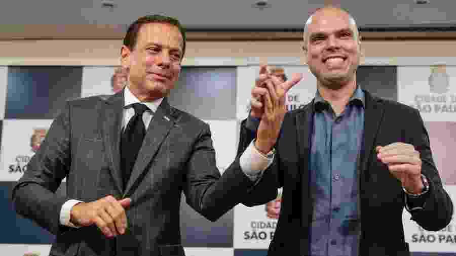 Adeptos da privatização, João Doria e Bruno Covas recorrem à intervenção do poder público para tentar conter o novo coronavírus - SUAMY BEYDOUN/AGIF/ESTADÃO CONTEÚDO