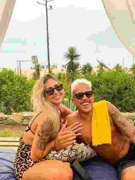 Maria Eduarda e Matheus são os responsáveis pelo mais novo viral da internet - Arquivo pessoal