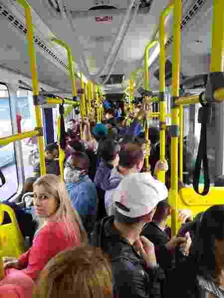 Motoristas em São Paulo trabalham sem EPIs em ônibus lotados - Divulgação