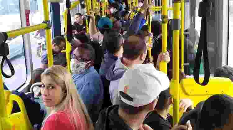 Motoristas em São Paulo trabalham sem EPIs em ônibus lotados - Divulgação - Divulgação