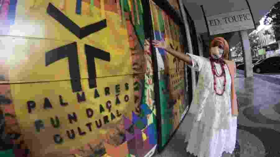 Adna dos Santos, religiosa xingada pelo presidente da Fundação Palmares, Sérgio Camargo - Divulgação/Ògan Luiz Alves/Projwto Oníbodê