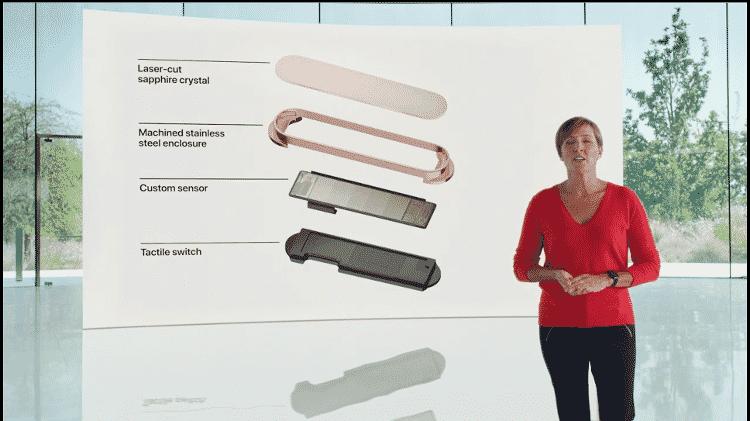 15.set.2020 - iPad Air Apple sensor biométrico - Reprodução - Reprodução