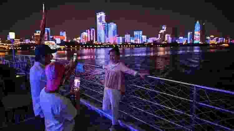 Wuhan recebeu quase 19 milhões de turistas de 1 a 7 de outubro, mais do que qualquer outra cidade chinesa - Getty Images - Getty Images