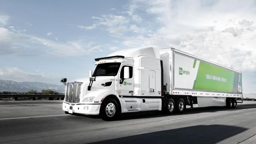Caminhão da TuSimple: nenhum acidente ao longo de 45 mil quilômetros de testes - Divulgação