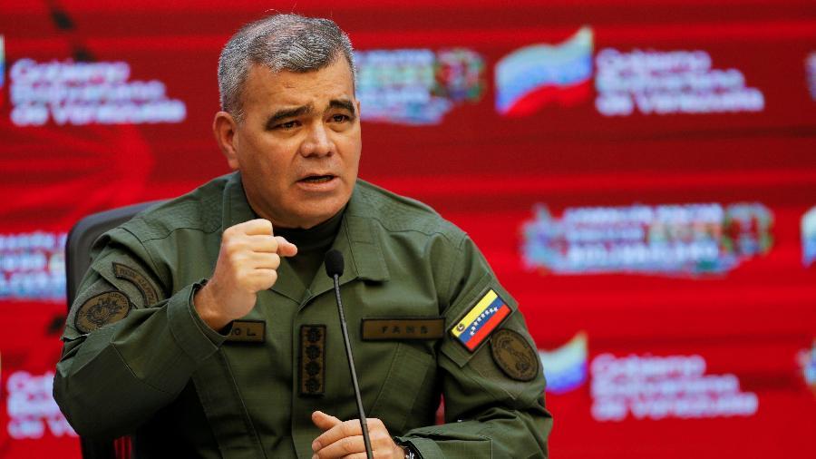 O Ministro da Defesa da Venezuela, Vladimir Padrino Lopez, disse que oito soldados do país foram capturados - MANAURE QUINTERO/REUTERS